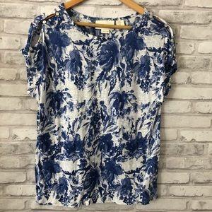 Linen blouse Cynthia Rowley